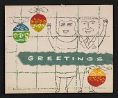 view Gordon and Helen (last name unknown) Christmas card to Fred and Adelaide Morris Gardner digital asset number 1