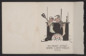 view Alfred Frueh Christmas card to Adelaide Lawson digital asset number 1