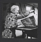 view Photograph of Jan Gelb, printing digital asset number 1
