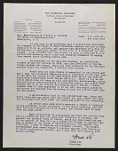view Jonas Lie, New York, N.Y. letter to Clifton A. Woodrum, Washington, D.C. digital asset number 1