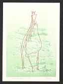 view Bernard Childs Christmas card to Eugenie Gershoy digital asset number 1