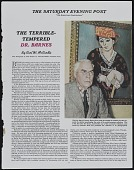 view Oversize Clippings of William Glackens from Box 2, Folder 17 digital asset: Oversize Clippings of William Glackens from Box 2, Folder 17