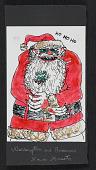 view Warrington Colescott christmas card to Ray Gloeckler digital asset number 1
