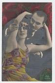 view Reginald Marsh postcard to Lloyd Goodrich digital asset: front