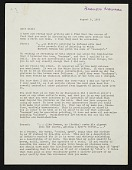 view Barnett Newman letter to Clement Greenberg digital asset number 1