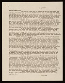 view Clement Greenberg letter to Clyfford E. Still digital asset number 1