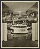 view William Gropper mural behind a bar digital asset number 1