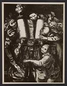 view Zygmund (or Sigmund) Menkes' painting <em>La Grande Torah</em> digital asset number 1