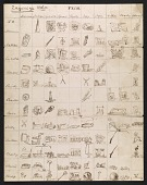 view Hale family illustrated list of gifts given and received digital asset number 1