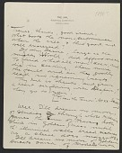 view Charles Roswell Bacon letter to Philip Leslie Hale digital asset number 1