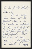 view Mrs. J. Q. Adams letter to Charles Henry Hart digital asset number 1