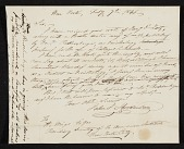 view John James Audubon, New York (State) letter to Henry Meigs, New York, N.Y. digital asset number 1
