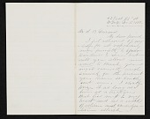 view John Bunyon Bristol, New York, N.Y. letter to Asher Brown Durand, New York, N.Y. digital asset number 1
