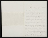 view Henry Kirke Brown letter to John George Brown digital asset number 1