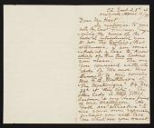 view F. B. (Francis Bicknell) Carpenter, New York, N.Y. letter to Charles Henry Hart digital asset number 1