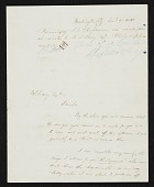view J. G. (John Gadsby) Chapman, Washington, D.C. letter to F. B. (Francis Bicknell) Carpenter, Philadelphia, Pa. digital asset number 1