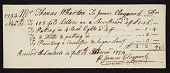 view Payment from Mr. Thomas Wharton to James Claypoole. digital asset number 1