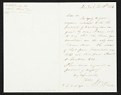 view Asher Brown Durand, New York, N.Y. letter to unidentified recipient digital asset number 1