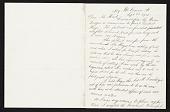 view Thomas Eakins, New York, N.Y. letter to Charles Henry Hart, New York, N.Y. digital asset number 1