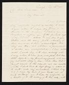 view G. (George) Cooke, Raleigh, N.C. letter to John Trumbull, New York, N.Y. digital asset number 1