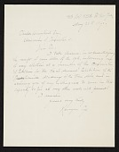 view Kenyon Cox, New York, N.Y. letter to Charles Henry Hart, New York, N.Y. digital asset number 1