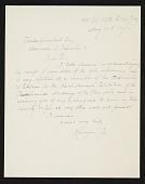 view Kenyon Cox, New York, N.Y. letter to Charles Henry Hart, New York, N.Y. digital asset number 1