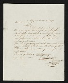 view Thomas Seir Cummings, New York, N.Y. letter to unidentified recipient digital asset number 1