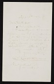 view Charles Courtney Curran, New York, N.Y. letter to Charles Henry Hart, New York, N.Y. digital asset number 1