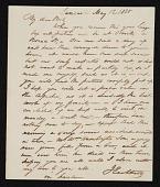 view Jacob Eichholtz, Lancaster, Pa. letter to Robert Lindsay, Philadelphia, Pa. digital asset number 1