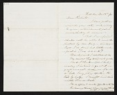 view Charles Loring Elliott, Hoboken, N.J. letter to unidentified recipient digital asset number 1