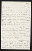 view John M. Falconer, Brooklyn, N.Y. letter to Charles Henry Hart, New York, N.Y. digital asset number 1