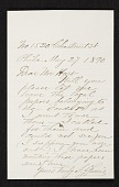 view Jean Leon Gerome Ferris, Philadelphia, Pa. letter to Charles Henry Hart, New York, N.Y. digital asset number 1