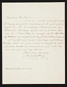 view Jared B. (Jared Bradley) Flagg, New York, N.Y. letter to Charles Henry Hart, New York, N.Y. digital asset number 1