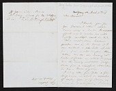 view George Fuller, Montgomery, Ala. letter to Asher Brown Durand digital asset number 1