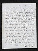 view Alvan Fisher, Boston, Mass. letter to unidentified recipient digital asset number 1
