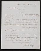 view Samuel Lancaster Gerry, Malden, Ma. letter to Asher B. Durand digital asset number 1