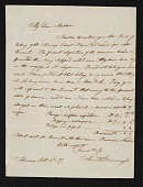 view Horatio Greenough, Florence, Italy letter to unidentified recipient digital asset number 1
