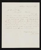 view James McDougal Hart, Albany, N.Y. letter to John Durand, New York, N.Y. digital asset number 1