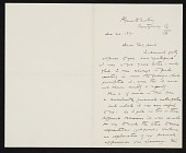 view Thomas Hovenden, Plymouth Meeting, Pa. letter to Charles Henry Hart digital asset number 1