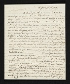 view Charles Cromwell Ingham, New York, N.Y. letter to Asher Brown Durand digital asset number 1