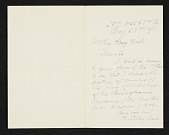 view Unidentified sender, New York, N.Y. letter to Charles Henry Hart digital asset number 1