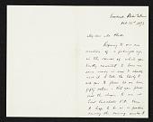 view Frederick W. Kost, Roshanak, R.I. letter to Thomas B. (Thomas Benedict) Clarke, New York, N.Y. digital asset number 1