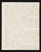 view Robert Leslie, London, England letter to Charles Willson Peale, Philadelphia, Pa. digital asset number 1
