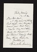 view Unidentified sender, Philadelphia, Pa. letter to Charles Henry Hart digital asset number 1