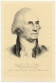 view Washington, from the original portrait painted by Rembrandt Peale digital asset number 1