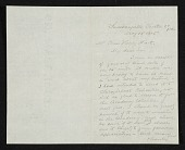 view William Trost Richards, Chester Co., Pa. letter to Charles Henry Hart, New York, N.Y. digital asset number 1