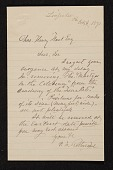 view Peter Frederick Rothermel, Linfield, Pa. letter to Charles Henry Hart digital asset number 1