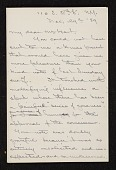 view James David Smillie, New York, N.Y. letter to Charles Henry Hart digital asset number 1