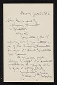 view Edmund Charles Tarbell letter to Charles Henry Hart digital asset number 1
