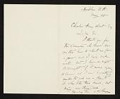 view Abbott Handerson Thayer, Dublin, N.H. letter to Charles Henry Hart digital asset number 1